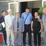 Вручение Корана в Баку