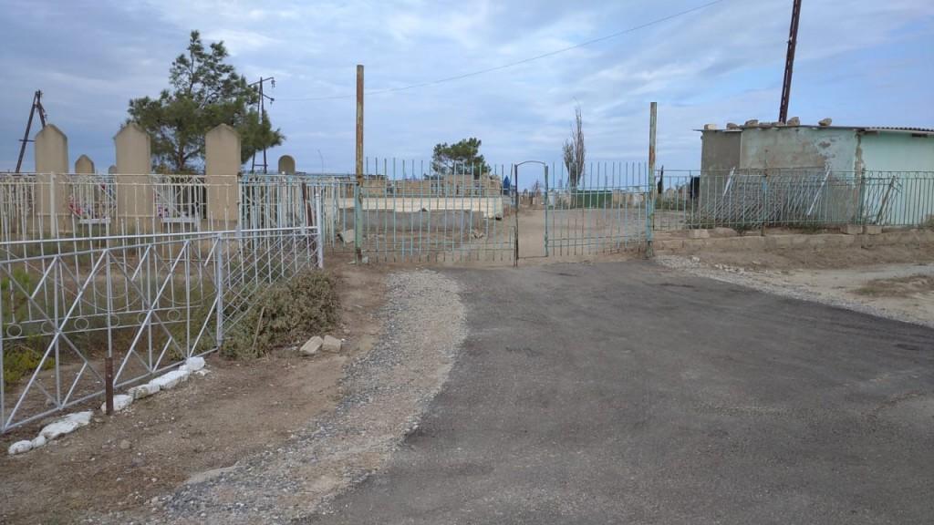Новая асфальтная дорога в сторону кладбище 1